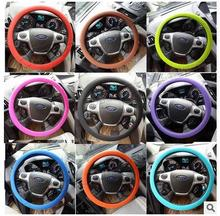 High Quality Car Steering Wheel Car Covers 3 Colors for BMW E46 E39 E90 E36 E60 E34 E30 F30 F10 E53 X1 X3 X5 X6 Z3 Z4 E38 E83