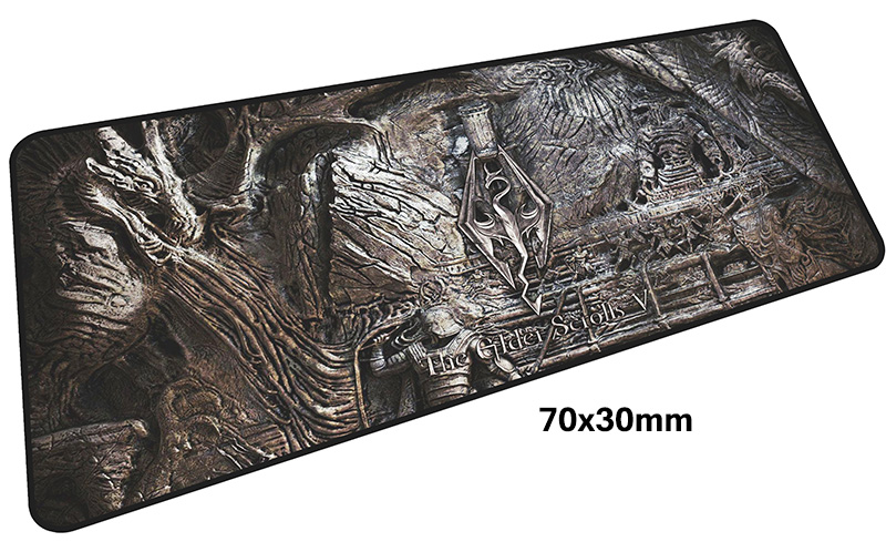 skyrim mouse pad gamer 700x300mm notbook mouse mat large gaming mousepad large Birthday present pad mouse PC desk padmouse 11