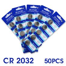 YCDC Hot selling 50 Pcs 3V Lithium Coin Cells Button Battery Board ECR2032 CR2032 5004LC KCR2032 EE6282