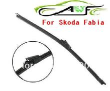 Free Shipping Car rear wiper blades For Skoda Fabia Soft Rubber WindShield Wiper Blade , Size 13""