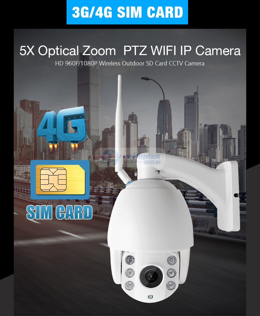 01 4g sim card ip camera