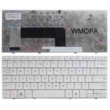 US New English Replace  Keyboard FOR HP mini 110 HSTNN-170C White Laptop Keyboard