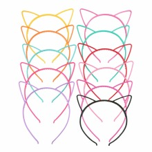 Lady Fashion Headband Baby party props cute cat ears girl headwear hair hoop accessories for women Hairband kids Head band