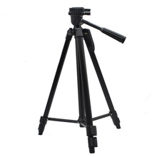 Camera Basic Tripod Support 3 Way Pan Head W/ Bubble Level 1320mm For Digital SLR Camera / Camcorder