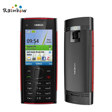 Original Nokia X2-00 Unlocked Mobile Phone X2 Used GSM 2G Bluetooth FM JAVA 5MP Free Shipping(China)