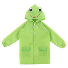 1 PC Free Shipping Kids Rain Coat Children Raincoat Rainwear/Rainsuit,Kids Waterproof Animal Raincoat