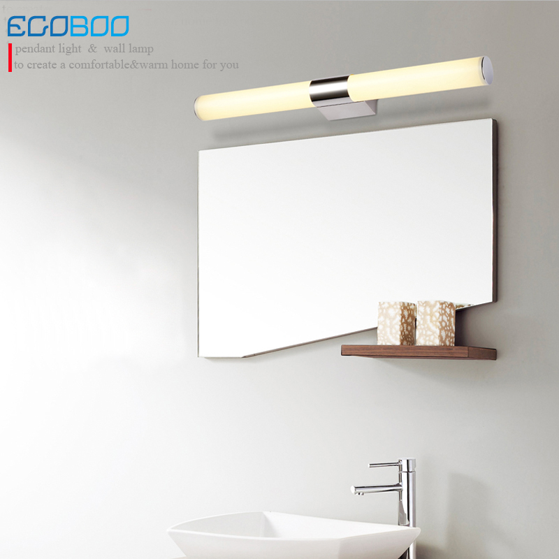 EGOBOO 16w 80cm long acrylic LED linear bathroom mirror lighting light decorate home indoor wall mirror light