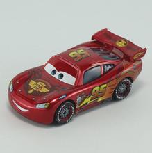 Cars No.95 With Plating Lightnings Macqueens Metal Toy Car For Children 1:55 Loose Brand New In Stock Lightning McQueen