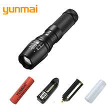 Powerful XML-T6 XM-L2 U2 Led Flashlight Tactical Flashlight Professional Flash Light LED Torch use AAA or 18650 or 26650 Battery(China)
