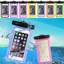 Hot Sell PVC Waterproof Phone Case For HTC One V T320e Underwater Pouch Phone Bag cover For HTC T320e Cover Bag(China)