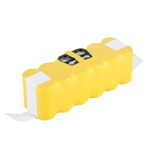 FLOUREON 14.4V 3500mAh Ni-MH Battery for iRobot Roomba Vacuum Cleaner Rechargeable Battery Pack Replacement for 520 550 560 780