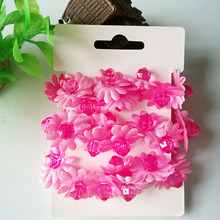 Hair Clip 7Colors Shabby Fabric Flowers For Girl Headbands Hairband Hair Ornaments Accessories Hair Accessories HeadBand(China)