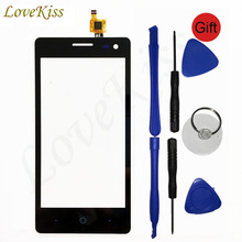 GF3 Front Touch Panel Sensor For ZTE Blade GF3 V831 Touch Screen Digitizer LCD Display Outer Glass V831 Touchscreen Replacement(China)