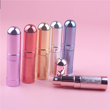 Top Quality 1pcs 6ml Refillable Portable Mini Perfume Bottle&Traveler Aluminum Spray Atomizer Empty Parfum Bottle Free Shipping