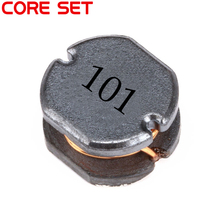 10pcs/lot SMD Power Inductor CD75 100UH 101 0.8A~1A Wire Wound Chip Inductor