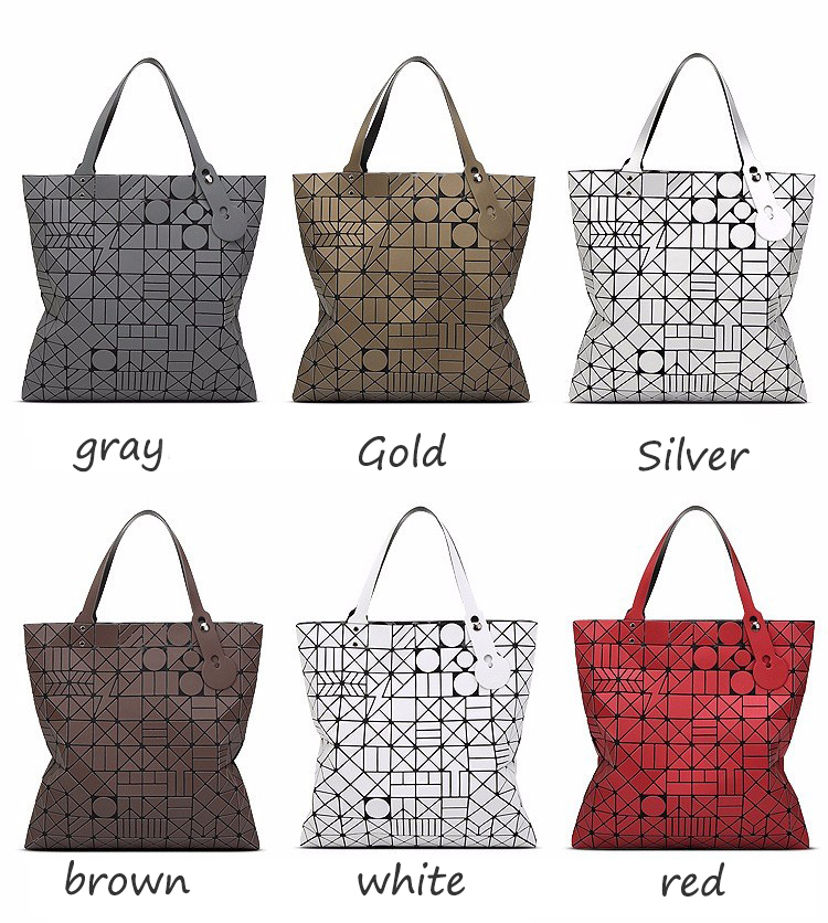 European big tote bao bao bag fashion Handbags 17 Women Hand Bag Luxury Brand Designer Geometric laser baobao Bag ladies 4