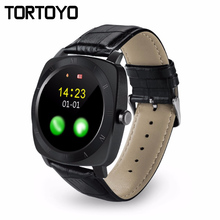 X3 Smart Watch Phone 2G SIM Card Leather Band Smartwatch Clock Sports Pedometer Music Sports Wristwatch PK K89 GW01 GT08 KW18 U8(China)