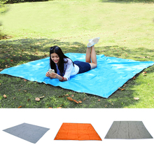 Large Waterproof Outdoor Moistureproof Foldable Camping Mat For Picnic Sand Free Mat Blanket Pad for Camping Hiking 215x215cm