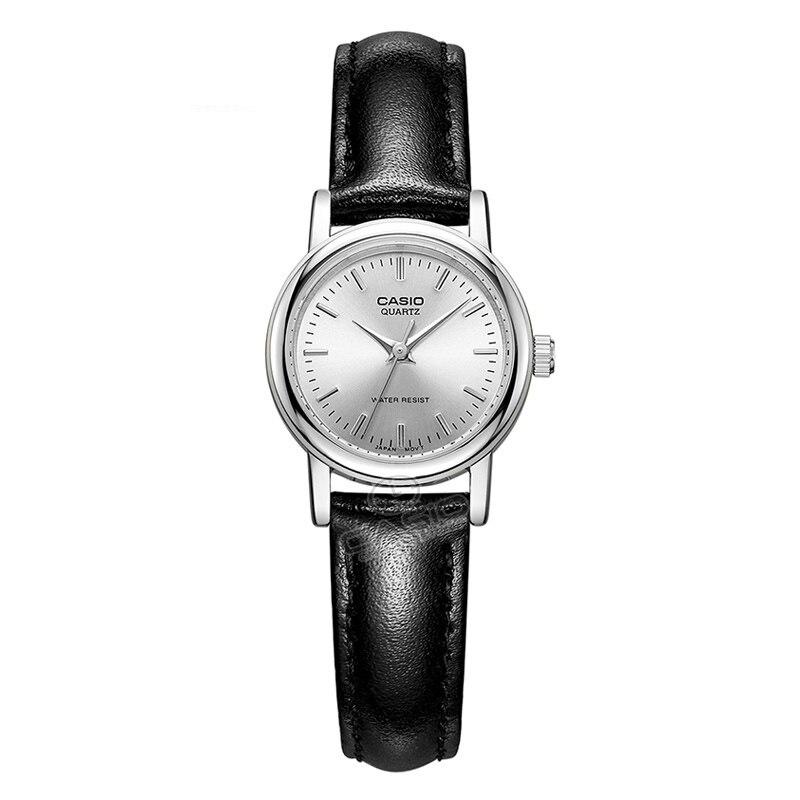 CASIO Watch Simple Top Luxury Brand Quartz LTP-1095E-7A Women fashion Casual Leather Wristwatch Clock Gift Clock Table<br>