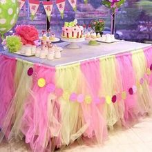22mX15cm  Organza Sheer Gauze Element Yarn Roll Crystal table Decoration decoracao casamento bachelorette party supplies