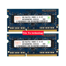 Lifetime warranty For hynix DDR3 2GB 1333MHz PC3-10600S Original authentic DDR 3 2G notebook memory Laptop RAM 204PIN SODIMM(China)