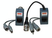 Power Video Balun UTP Network Transceiver twisted-pair Balun BNC for CCTV Camera