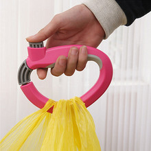 Hoomall Soft Grip Shopping Grocery Bag Easy Carrier Handle Holder Lock Labor Shopping Bags Holder(China)