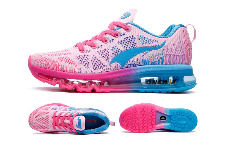 ONEMIX Women Running Shoes Weave Breathable Sport Shoes Air Cushion for Women 17 New Sneakers Athletic Outdoor Sport Shoes 21