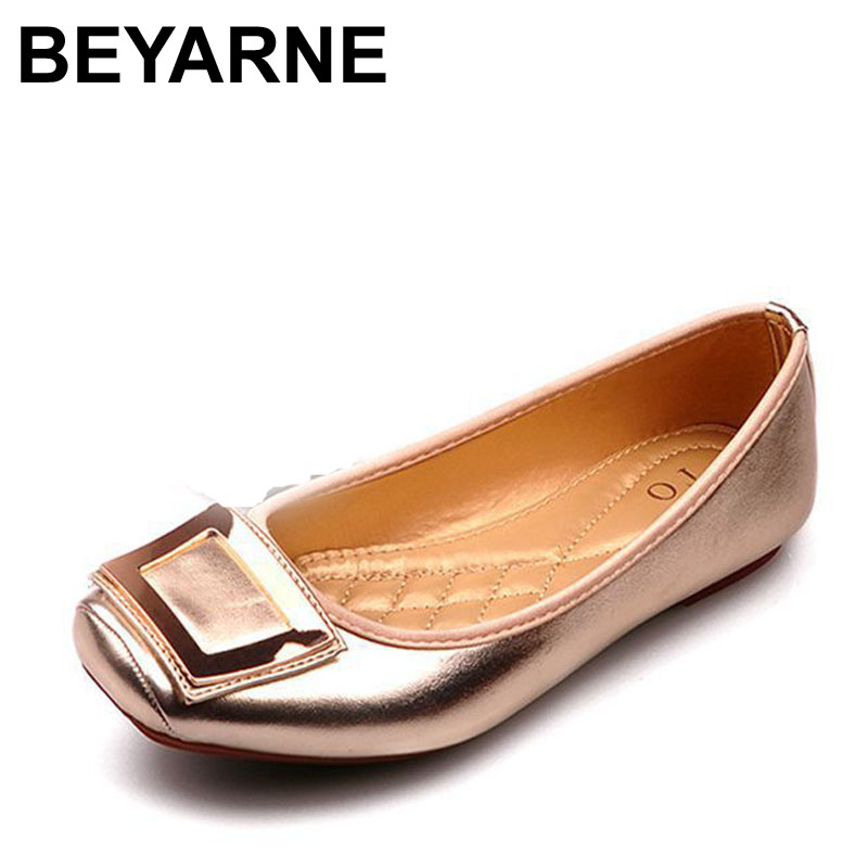 Spring and Autumn Womens Flats High Quality Genuine Leather Women Shoes Fashion Flats for Women Plus Size 35-41 Free Shipping<br><br>Aliexpress