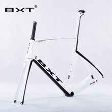 2016 New Design BXT Carbon Road Bike Frame+Fork+Seatpost Toray T800 Chinese Bike Frame 49-56CM UD/3K Carbon bicycle  Frames
