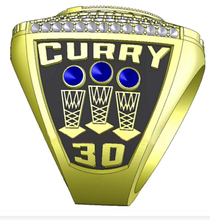 Factory Direct Sale 2017 Golden State Warriors Curry Round Basketball custom sports Replica world Championship Ring size 6-15