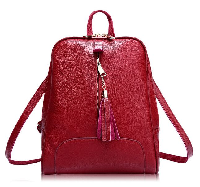 Red Casual Back Bags Women Bag New 2017 Handbags Zipper Tassel Versatile Women Messenger Bags 2016<br><br>Aliexpress