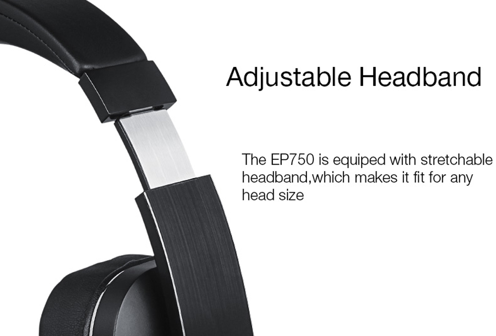 August EP750 aptX Active Noise Cancelling Wireless Bluetooth Headphones with aptX / Microphones / NFC Wireless ANC Earphones