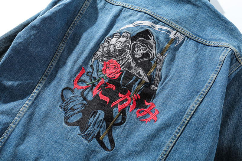 Ripped Hole Destroyed Denim Jackets 7