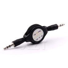 PZ 1pcs 3.5mm RETRACTABLE AUXILIARY CABLE CORD Car audio cable for mobile Computer Audio cable MP3