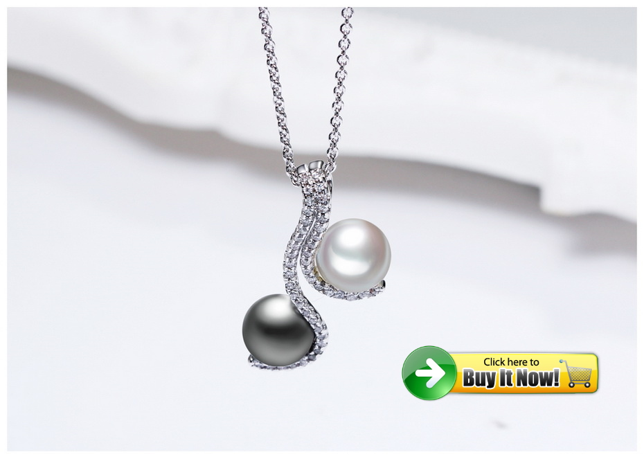 grey pearl necklace 2
