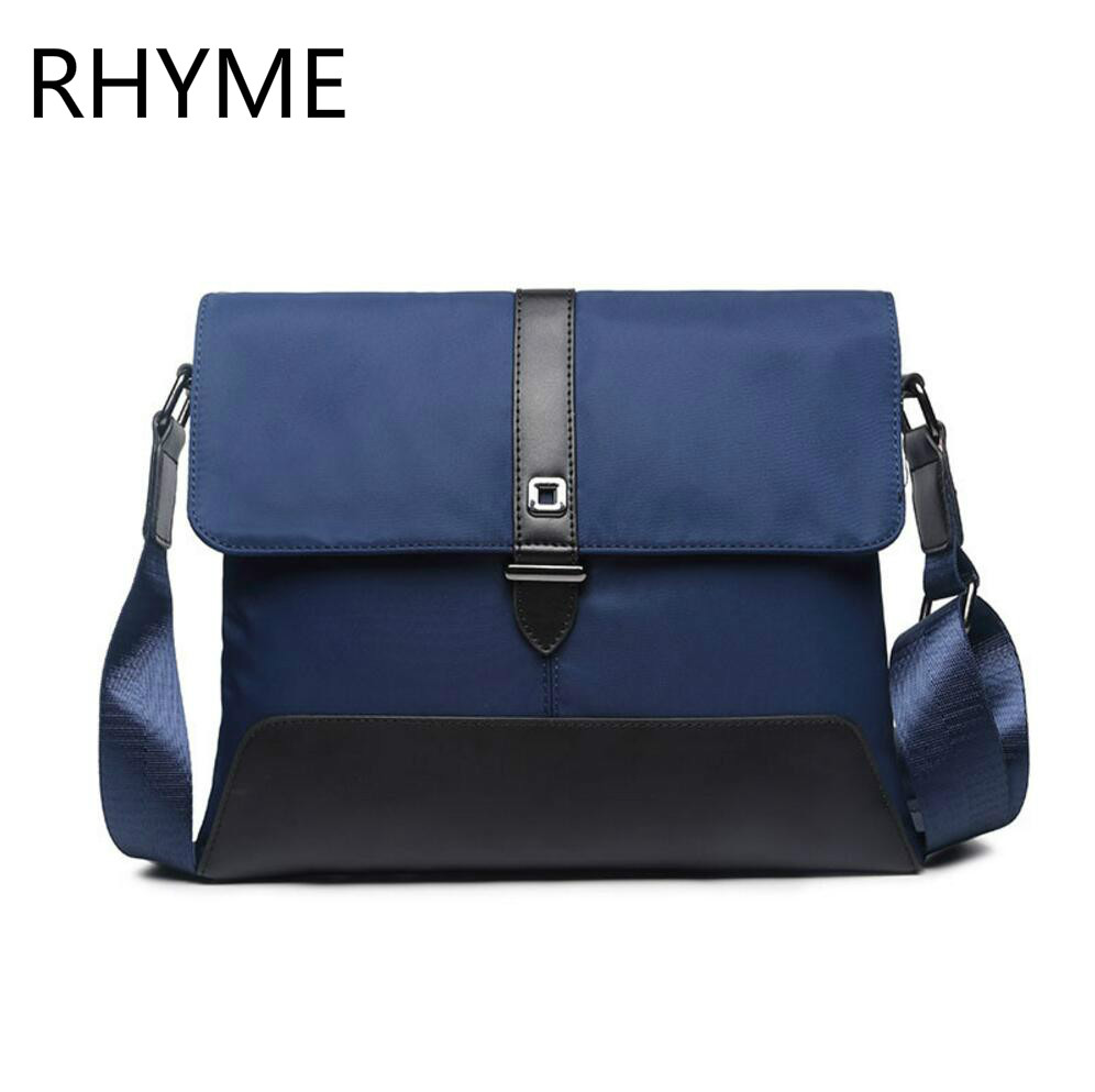 RHYME Waterproof Nylon Men Bag Casual Multifunctional Shoulder Bag Versatile Patchwork Fashion Bolso<br><br>Aliexpress