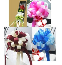 1.5meter=59inch Two-tone Pull Bows Ribbons Flowers Gift Wrapping Pullbows for Birthday Wedding Party Decoration Decor Craft