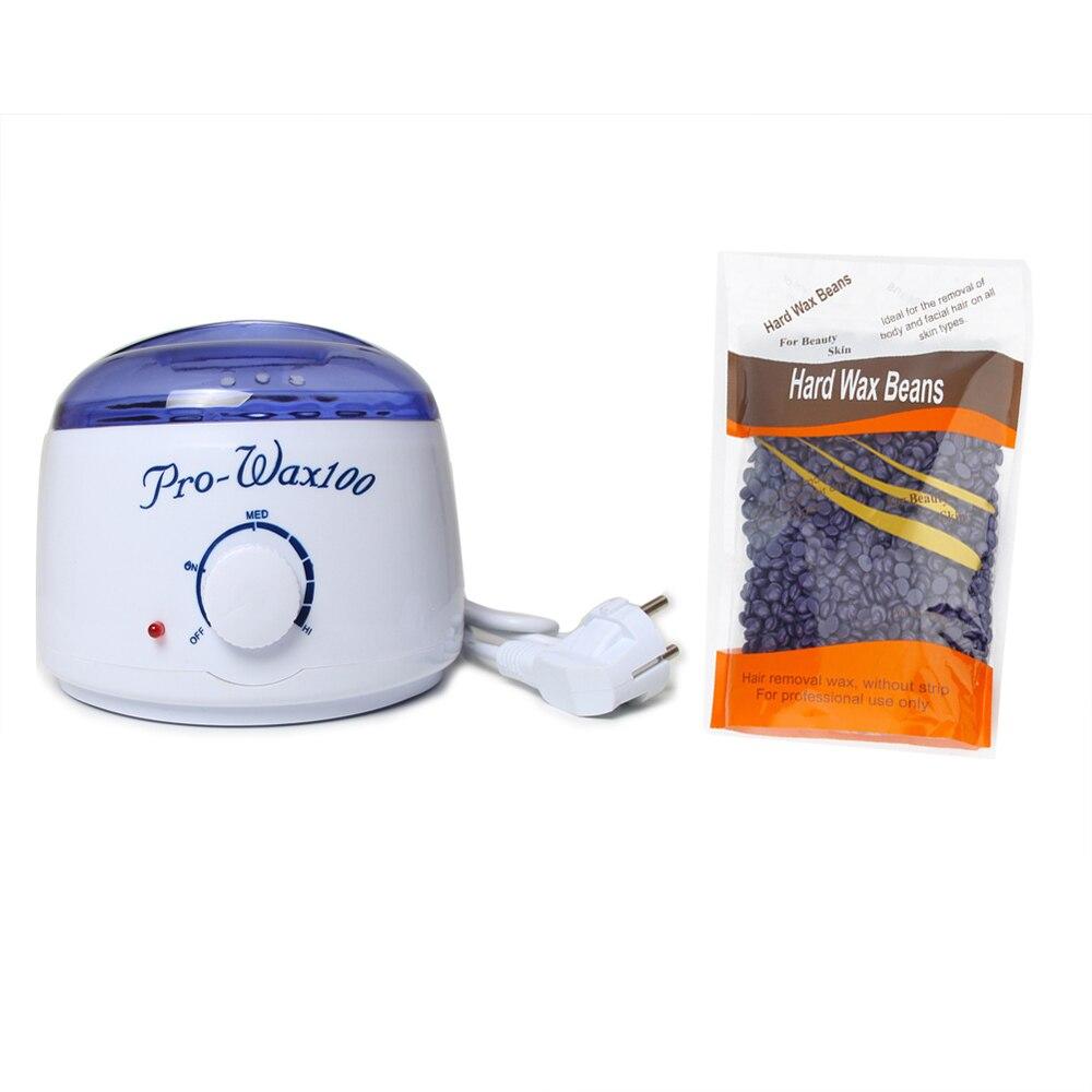 Hair Removal Cream Hard Wax Bean Wax Heater Warmer Hand Epilator Feet Paraffin Wax Body Depilatory Home Use Beauty Salon SPA<br>