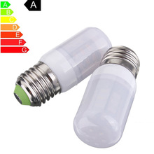 LED Light Bulb E27 3.5W 27pcs 5730SMD Frosted Cover Pure White Spotlight Bulb Corn Lamp Tube Chandelier Lighting 24V/110V(China)