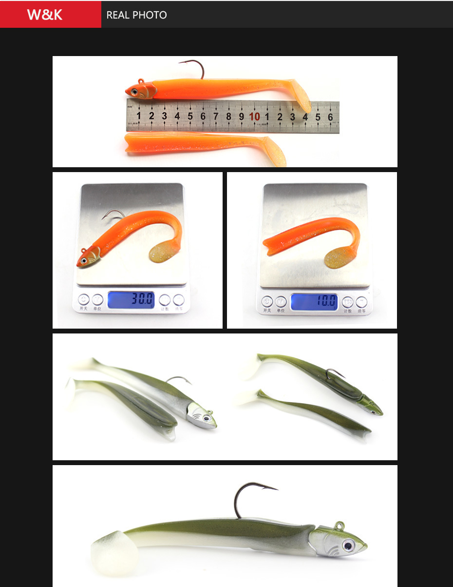 Leurres souples type Sayori Shad 11cm/10g vendus par 2
