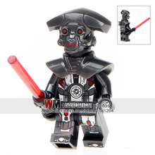 Single Sale PG727 Hunter Droid Imperial Inquisitor Boba Fett 75185 Building Blocks Children Gifts Toys PG8066 Drop Shipping(China)