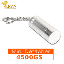 Mini Bullet Magnetic EAS Portable Detacher 4,500GS Security Tag Remover