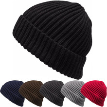 Baggy Beanie Knit Winter Hat Ski Slouchy Chic Hip-hop Cap Skull Men Women Unisex hat