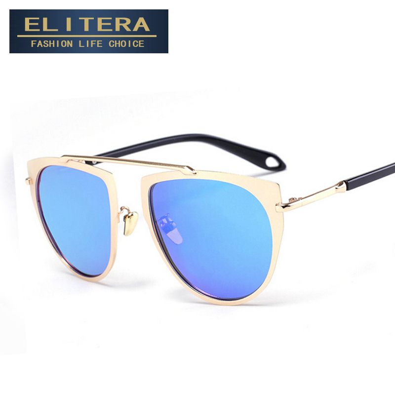 ELITERA 2017 Classic Sunglasses Women Glasses Brand designer UV400 Shades Female sunglass Male Eyewear Men Outdoor Oculos de sol<br><br>Aliexpress