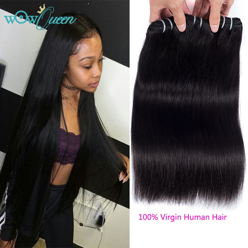 Brazilian Virgin Hair Straight 3 Bundles Virgin Human Hair 7A Unprocessed Brazilian Hair Weave Bundles Straight Hair Extension  <br><br>Aliexpress