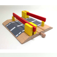D551 Free shipping wooden Thomas rail train toy accessories sell like hot cakes The parallel bars crossing