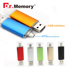 Dr.Memory OTG Flash Drive Full Capacity Smart Phone Pen Drive 64GB USB OTG Flash 32GB 16GB Memory U Stick OTG external storage