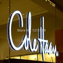 Outdoor acrylic led Illuminated letters Sign advertising business shop front sinage