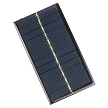 DIY Solar Panel 6V 1W 110*60mm for Lamp Light Toy Car Phone Energy Battery Solar Cell Portable Charger Cells